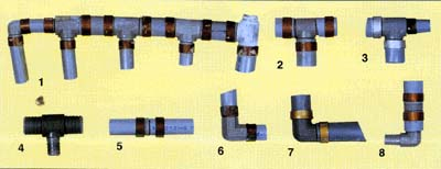 Polybutylene Pipe and fittings are known to break down over time which causes leaks and extensive water damage.  Source: http://www.polybutylene.com/poly.html