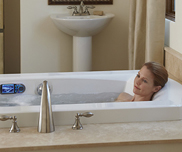 Convert your bathroom to a personal retreat with a new luxury bathtub replacement.