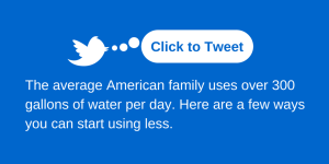 7-10-2015 5 Simple Ways To Conserve Water At Home Blog Post Click to Tweet